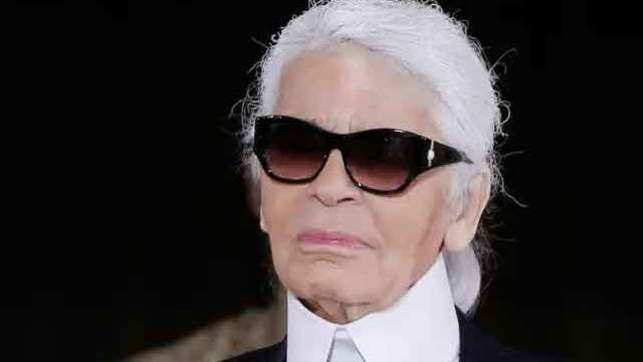 Karl Lagerfeld Death Iconic Fashion Designer Karl Lagerfeld Passes