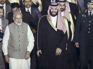 Saudi Crown Prince arrives in India amid row with Pakistan