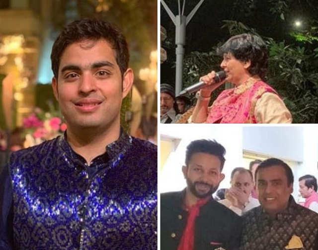 Akash-Shloka's pre-wedding celebrations kick off at Ambani residence, Falguni Pathak performs