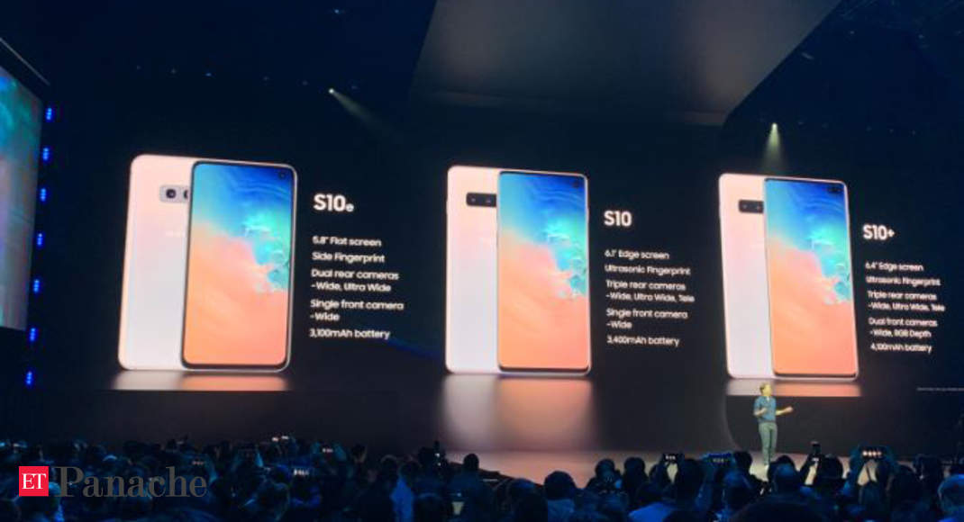 Samsung: Samsung Galaxy S10e, S10, and S10+ smartphones launched
