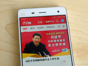 Xi Jinping in everyone's pocket: 'Xi cult' app is China's red hot hit