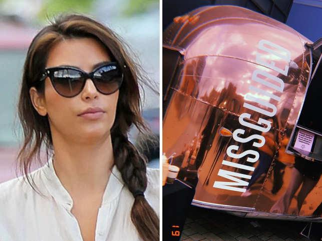 Kim Kardashian sues fashion company