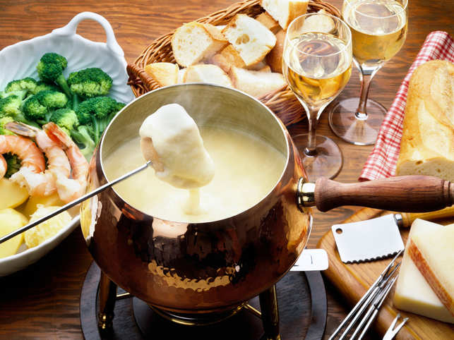 Cheesy much: Here's the scientific formula to rustle up the perfect fondue