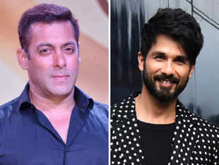 Salman Khan and Shahid Kapoor