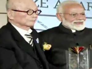 PM Modi recieves 'Seoul Peace Prize' award in South Korea