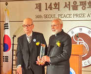 PM Modi's trip to South Korea in pictures