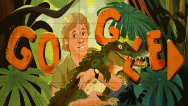 Google celebrates Steve Irwin's 57th birth anniversary with adorable doodle