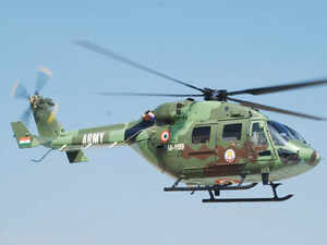 HAL delivers first three Dhruv helicopters to Indian Army
