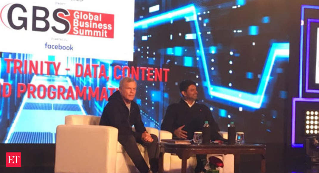 Data is the new battleground: Martin Sorrell at ETGBS 2019