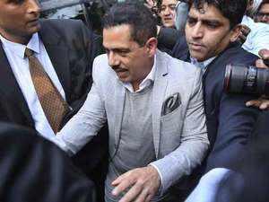 Money laundering case: Robert Vadra appears before ED for 5th time in Delhi
