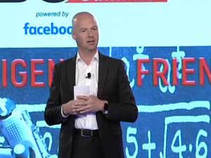 ETGBS 2019: Kitty Hawk CEO Sebastian Thrun talks 'Artificial Intelligence – Friend or Foe?'