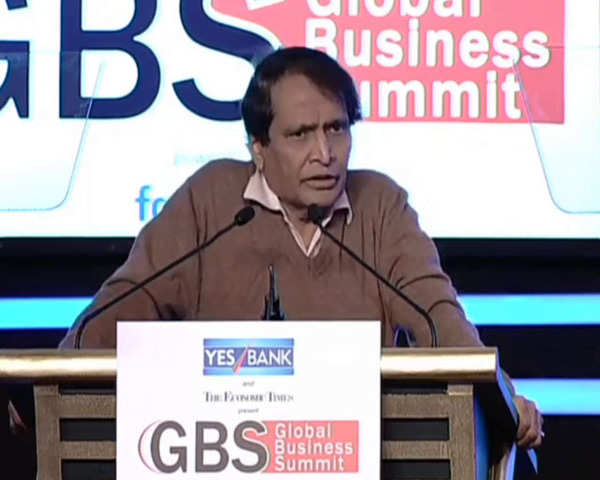 India's growth can happen by entrepreneurship: Suresh Prabhu at ETGBS 2019