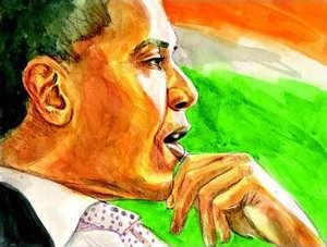 Obama's landmark visit to India