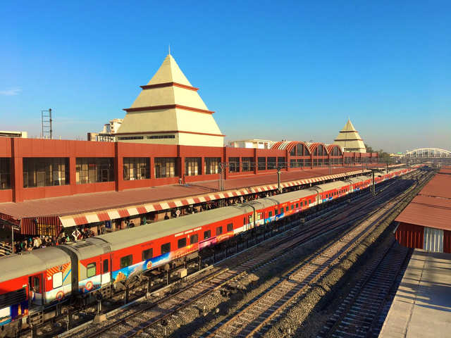 Manduadih in Varanasi ups the game of railway stations in India
