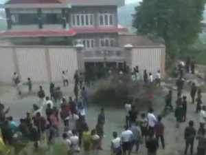 Permanent residence certificate row: Protesters set ablaze Dy CM's residence in Arunachal Pradesh