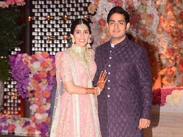 Childhood friends Akash and Shloka will tie the knot on March 9.
