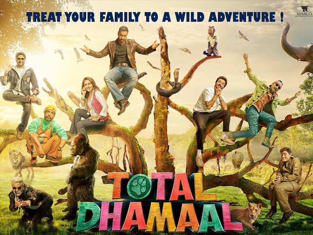 'Total Dhamaal' sees excellent first weekend, earns Rs. 62. 40 crore