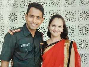 Martyred officer's wife to join Indian Army as tribute to her husband