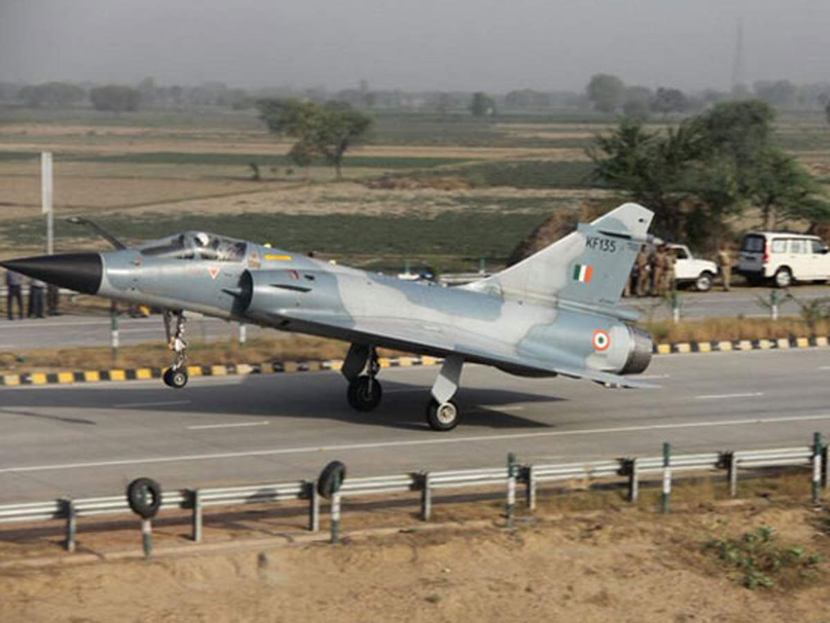 IAF Air Strikes: Airborne Early Warning aircraft took off from Delhi