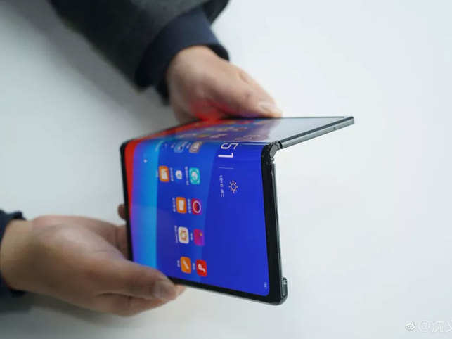 Oppo teases its own foldable phone