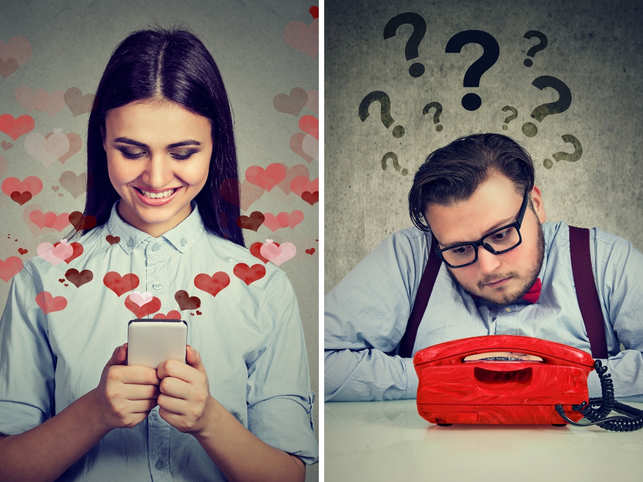 Love in the time of Internet: Women prefer WhatsApp, men