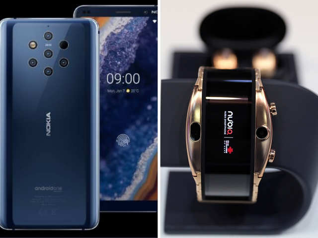 Sony Xperia 1 - Nokia 9 PureView, Nubia Alpha And Other Jaw