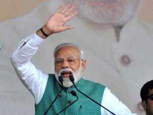 Modi says 'Made in Amethi' has become a reality, takes jibe at Rahul Gandhi