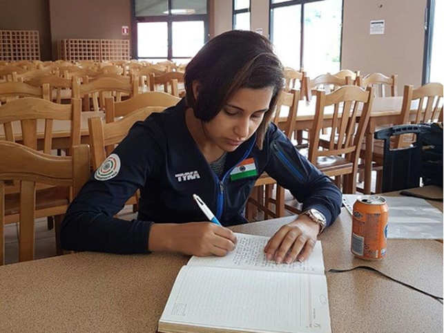 Dear diary: Heena Sidhu likes to keep a note of her victories and losses