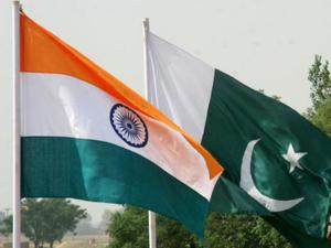 India Pakistan flag
