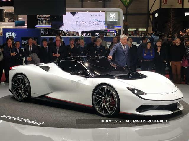 Pininfarina Battista: World's fastest electric supercar from