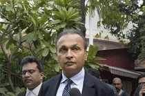 New Delhi: Reliance Communication Ltd. Chairman Anil Ambani leaves after appeari...