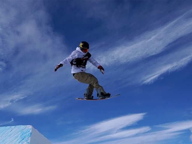 Men's Snowboard Slope Style