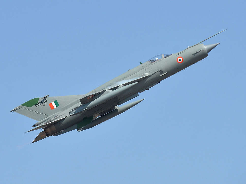 Indian Air Force MiG-21 crashes near Nal in Rajasthan, pilot safe