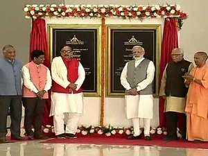 PM Modi inaugurates, lays foundation stone for projects worth Rs 32,500 crore