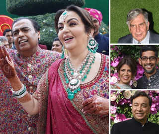 Akash-Shloka Wedding: Ambanis Shake A Leg; Tata, Pichai Among Guests