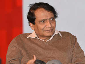 Closely monitoring developments at Jet Airways: Suresh Prabhu