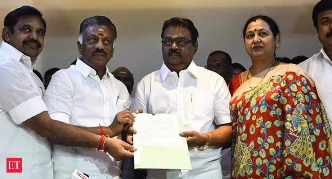 2019 Lok Sabha Polls: DMDK joins NDA alliance in Tamil Nadu, to contest 4  seats