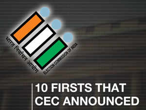 Lok Sabha polls 2019: 10 Firsts that CEC announced, how can they help