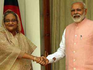 PM Modi, Bangladeshi PM Sheikh Hasina jointly inaugurate dozens of development projects