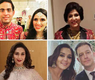 Ambani Reception: Madhuri, Preity And Para-Athlete Deepa Malik In Attendance
