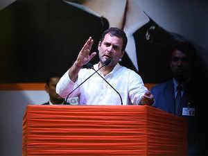 Rahul attacks Modi on home turf with GST, Masood Azhar swipes