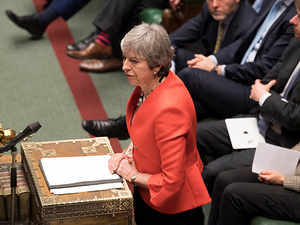 Theresa May's Brexit deal rejected overwhelmingly by UK lawmakers