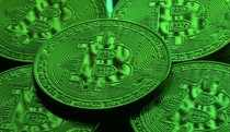 FILE PHOTO: Virtual currency Bitcoin tokens are seen in this illustration picture