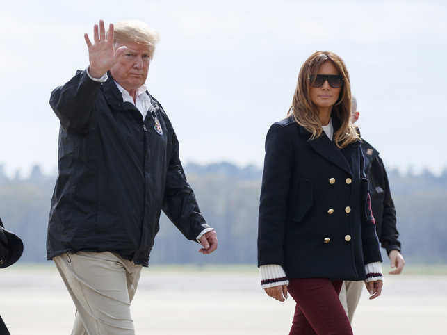 Trump is not happy about that Fake Melania conspiracy theory