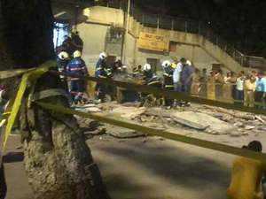 Video shows CST bridge collapse aftermath