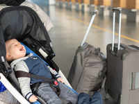 Too much baggage: There's a baby left in the luggage