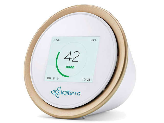 air quality monitor: Kaiterra Laser Egg 2+ review: Shows real-time