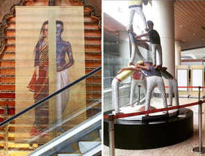 There's an art museum at the Mumbai airport; have you missed it?