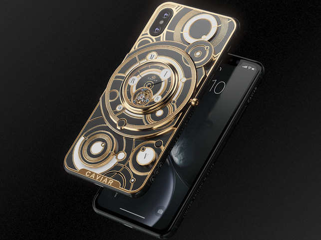 Give your iPhone XS Max an upgrade with tourbillon & sapphire crystal at just Rs 5.8 lakh