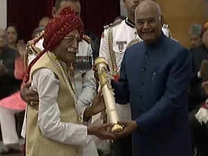 Watch: President Ram Nath Kovind confers Padma awards